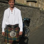A Kilted Fellow And My Bike