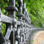 Railings Near The Wallace Memorial