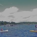 Canoeing and Biking on Lake Kabetogama