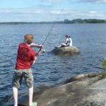 """Fishing on """"our"""" Island"""