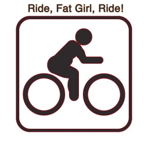 fat bike sign