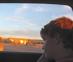 Max in Santa Fe