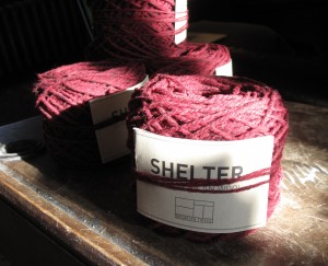 Chosen Yarn - I was allowed to pick my own, which is a lovely luxury!