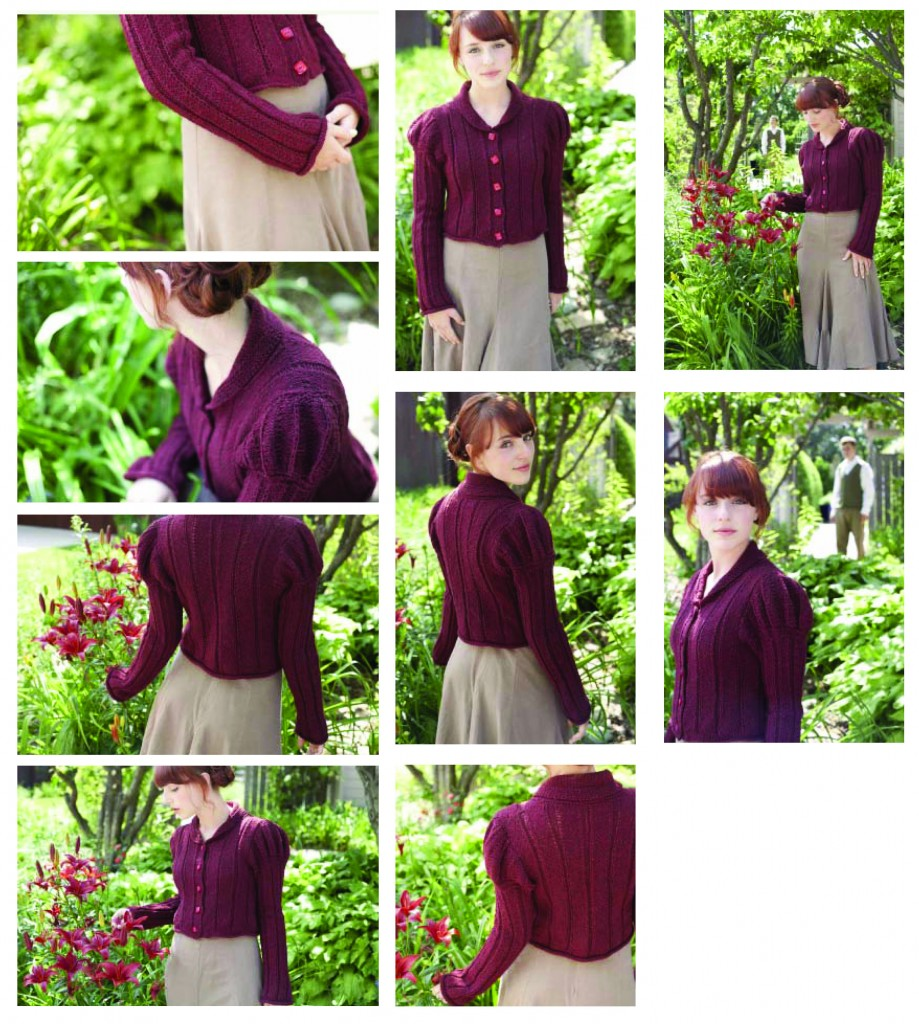 Published Pattern, Jane Austen Knits Issue 1