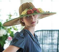 Oval Garden Hat