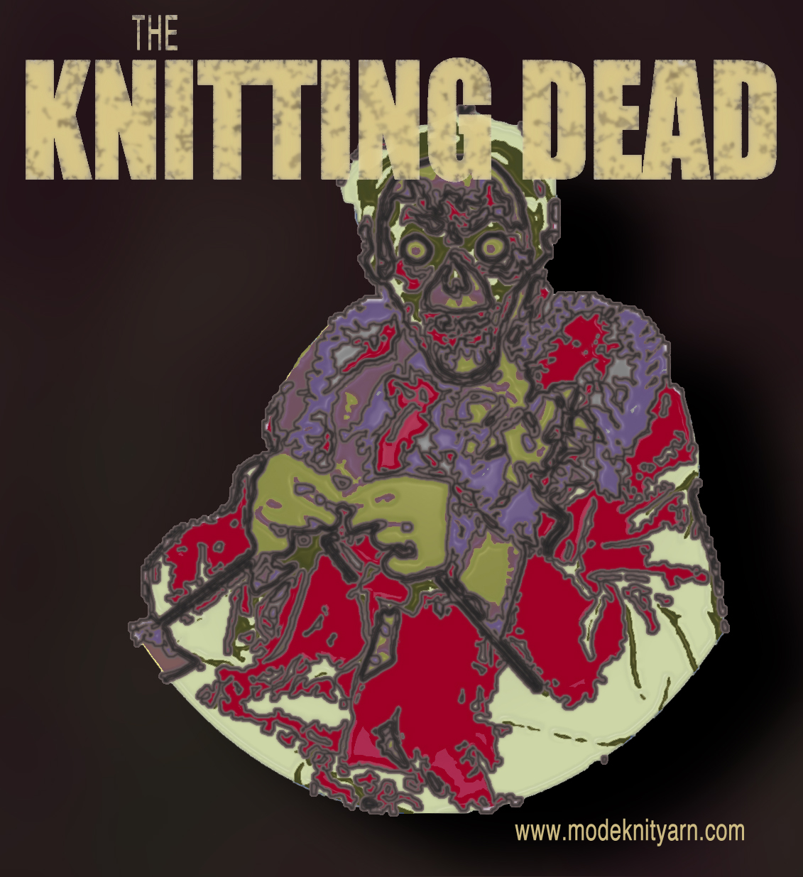 Knitting Zombies : The knitting dead modeknit
