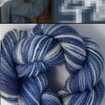 Stark blue & white of the habit