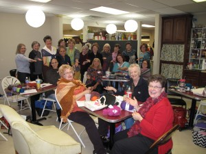 A Hardworking TX Class at The Knitting Fairy