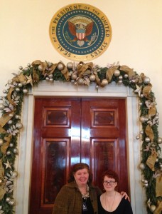 A & A at Prez's Door