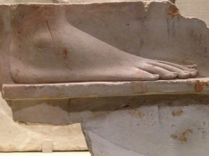 An Egyptian foot.  This has absolutely nothing to do with the blog post.