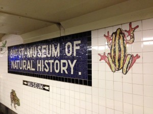 Amazing Mosaic Subway - Thank You, MTA!