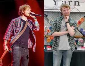 Max masquerading as Ed Sheeran