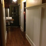 Hallway, post paint