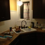 Kitchen, post paint