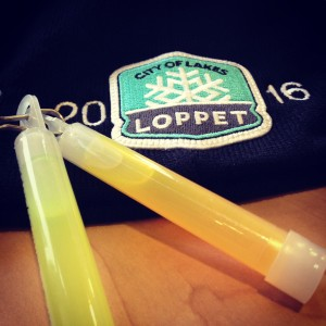 loppet glowsticks hat