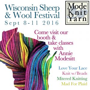 We'll be in Wisconsin, Teaching & Vending Sept 8-11.